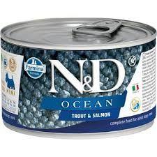 N&D - N&D Ocean Alabalık Somonlu Köpek Konservesi 140 gr