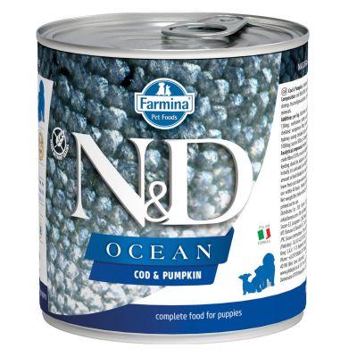 N&D - N&D Ocean Morina Balıklı Yavru Köpek Konservesi 285 gr