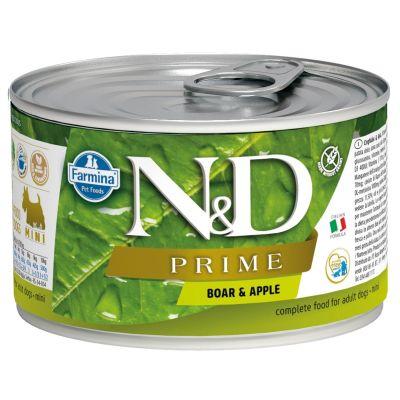 N&D - N&D Prime Domuzlu Elmalı Köpek Konservesi 140 gr