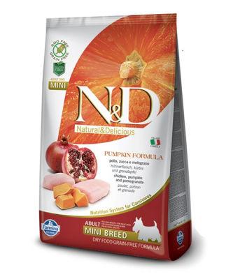 N&D - N&D Tahılsız Balkabaklı Tavuklu Küçük Irk Köpek Maması 2,5 Kg