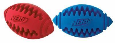 Nerf - Nerf Diş Kaşıyıcı Köpek Rugby Topu 12,7 Cm