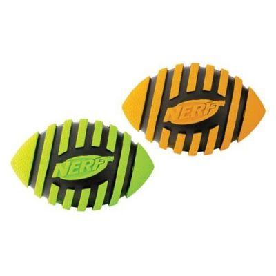 Nerf - Nerf Sesli Rugby Topu Köpek Oyuncağı 8,9 cm