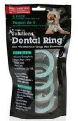 Omega Paw - Omega Paw Dental Ring Diş Temizleyici Ödül 7cm 4 lü