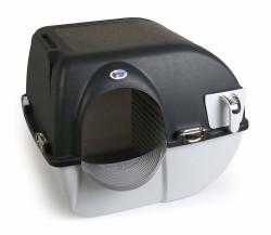 Omega Paw Kendini Temizleyen Elekli Kedi Tuvaleti Siyah 59 x 52 x 53 cm - Thumbnail