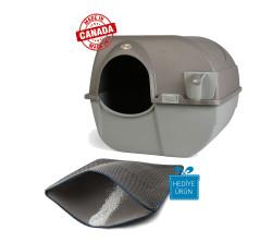 Omega Paw Kendini Temizleyen Kedi Tuvaleti Kahve 51 x 42 x 43 cm - Thumbnail
