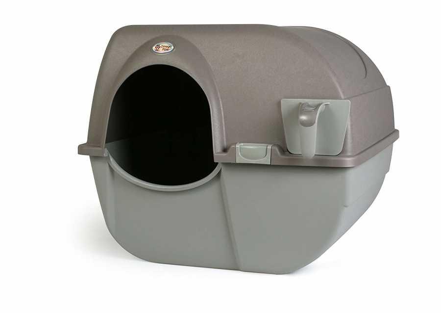 Omega Paw Kendini Temizleyen Kedi Tuvaleti Kahve 51 x 42 x 43 cm
