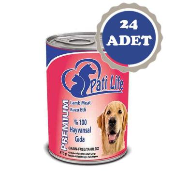 Diğer - Pati Life Kuzu Etli Yetişkin Köpek Konservesi 400 Gr 24 Adet