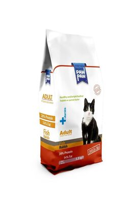 PawPaw - Paw Paw Balıklı Yetişkin Kedi Maması 1.5 kg