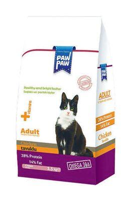 PawPaw - Paw Paw Tavuklu Yetişkin Kedi Maması 1.5 kg