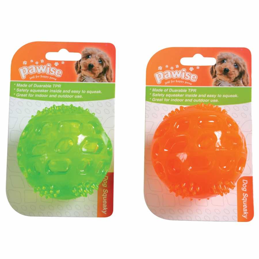 Pawise Dog Squeaky Sesli Top 7 Cm