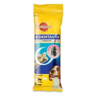 Pedigree - Pedigree Dentastix Medium Orta Irk Köpek Ödülü 3 Lü 77 Gr