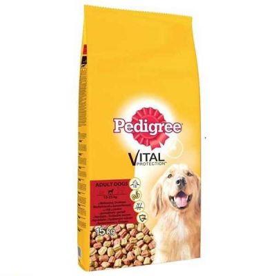 Pedigree - Pedigree Yetişkin Tavuklu & Biftekli Köpek Maması 15 Kg