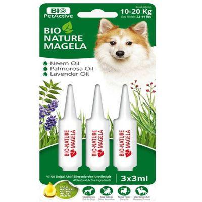 Bio Petactive - Pet Active Köpek Tüy ve Deri Bakım Damlası 10-20 kg