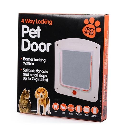 Pet Door Kedi Köpek Kapısı 20 x 22 x 3 cm