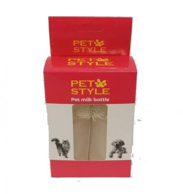 Pet Style - Pet Style Kedi Köpek Biberonu İkili 50 ml