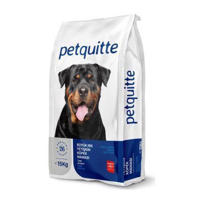 Petquitte - Petquitte Kuzu Etli Büyük Irk Yetişkin Köpek Maması 15 Kg