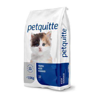 Petquitte - Petquitte Yavru Kedi Maması 1,5 Kg