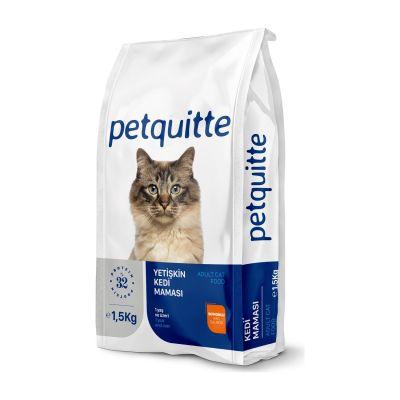 Petquitte - Petquitte Yetişkin Kedi Maması Somonlu 1,5 Kg