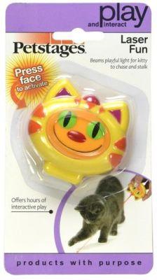Petstages - Petstages Laser Fun (Evcil Hayvanlar İçin Özel Tasarlanmış, Işığı Göze Zarar Vermeyen, Kedi-Köpek Oyuncağı)