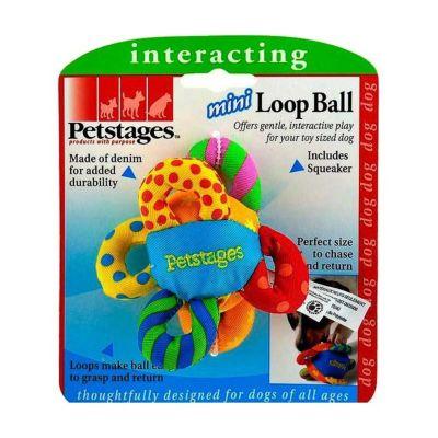 Petstages - Petstages Mini Loop Ball (Köpek Oyuncağı, Diş Kaşıyıcı)