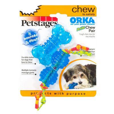 Petstages - Petstages Orka Chew Pair İkili (Patentli Orka Malzemesi, Sağlığa Zararsız, Köpek Oyuncağı)