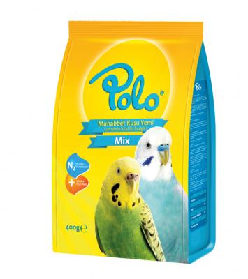 Diğer - Polo Muhabbet Kuşu Yemi 400 gr
