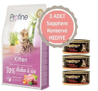 Profine - Profine Kitten Tavuklu Yavru Kedi Maması 10 KG