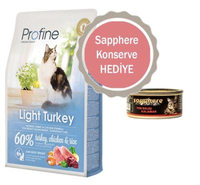 Profine - Profline Light Hindili Yetişkin Diyet Kedi Maması 2 KG