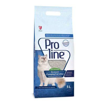 Proline - Proline Bentonit Topaklaşan Kedi Kumu 5Lt Parfümsüz