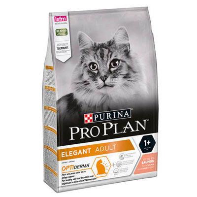 ProPlan - ProPlan Derma Plus Somonlu Yetişkin Kuru Kedi Maması 3 Kg