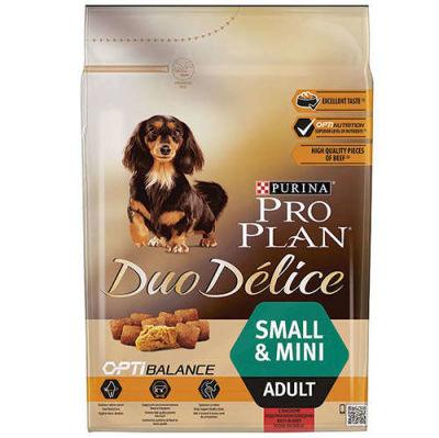 ProPlan - ProPlan Duo Delice Küçük Irk Biftekli Yetişkn Köpek Maması 2,5KG