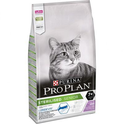 ProPlan - ProPlan Kısırlaştırılmış Hindili +7 Yaşlı Kedi Maması 1,5 Kg