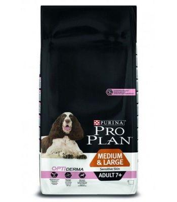 ProPlan - ProPlan Somonlu Hassas Yaşlı Kuru Köpek Maması 14 Kg
