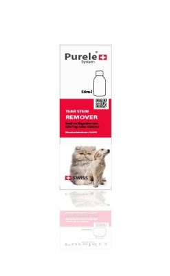 Purele - Purele Kedi Köpek Gözyaşı Leke Temizleme Losyonu 50 ml