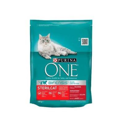 Purina - Purina One Sığır Etli Kısırlaştırılmış Kedi Maması 200 GR