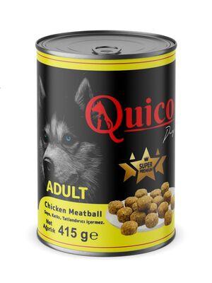 Quico - Quico Chicken Meatball Yetişkin Köpek 415 gr