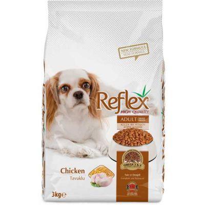 Reflex - Reflex Küçük Irk Tavuklu Yetişkin Köpek Maması 3 Kg