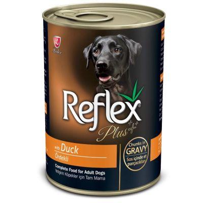 Reflex - Reflex Plus Ördekli Parça Etli Köpek Konservesi 400 Gr