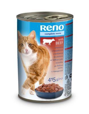 Diğer - Reno Biftekli Kedi Konservesi 415 gr