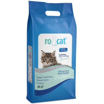 Diğer - Ro Cat Naturel İnce Taneli Kedi Kumu 10 LT