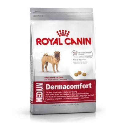 Royal Canin - Royal Canin Dermacomfort Medium Hassas Deri için Köpek Maması 10 Kg