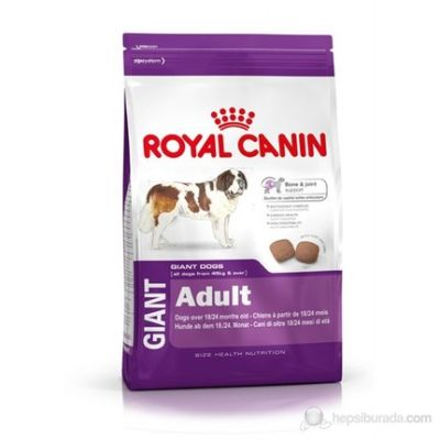 Royal Canin - Royal Canin Giant Adult Dev Irk Köpek Maması 15 Kg