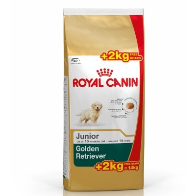 Royal Canin - Royal Canin Golden Retriever Junior 12+2 kg HEDİYELİ!