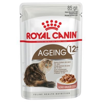 Royal Canin - Royal Canin Gravy Ageing +12 Kedi Pouch Konserve Maması 85 Gr