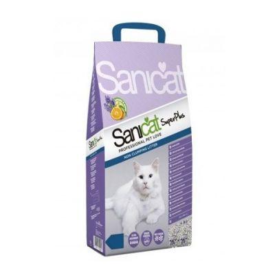 Sanicat - SaniCat Super Plus Lavanta ve Portakallı Doğal Kedi Kumu 10 Lt