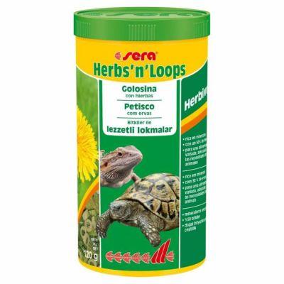 Sera - Sera Herbs n Loops Kaplumbağa Yemi 1000 ML
