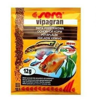 Sera - Sera Vipagran Balık Yemi 12 Gr