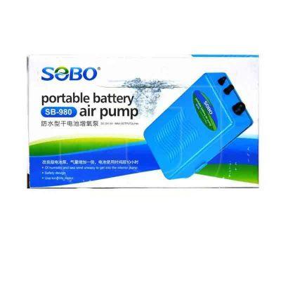 Diğer - Sobo SB 980 Bataryalı Akvaryum Hava Motoru
