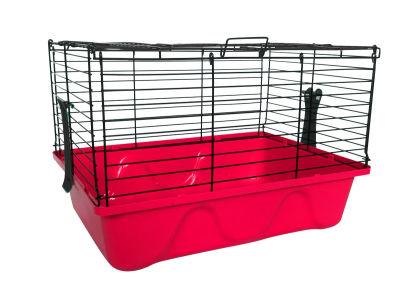 Diğer - Tavşan Kafesi 45x32x31 Pembe