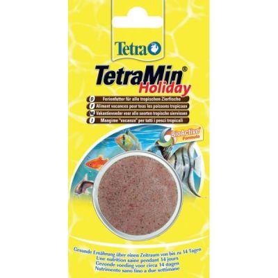 Tetra - Tetra Min Holiday Balık Yemi 30 Gr